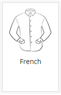 The French shirt placket