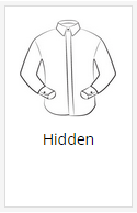 The hidden shirt placket